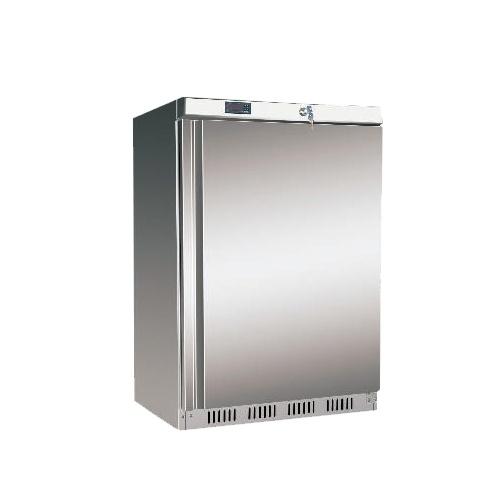 Chladnička nerez. preskl. statická 130 l, DR-200GS /870