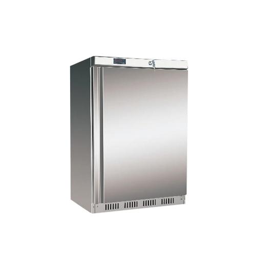 Bazár - Chladnička nerezová ventilovaná 130 l, HR-200S