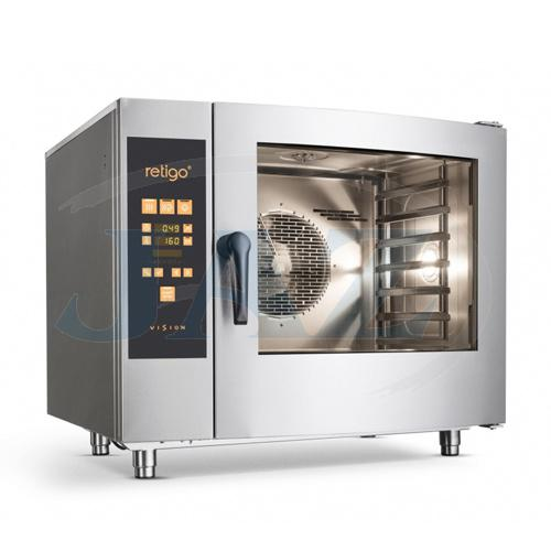 Konvektomat plyn. 20xGN1/1, bojlerový, AOS-201GBG2