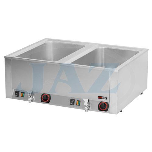 Kúpeľ vodná s vypúšťaním, 2 x GN1/1-200, BMV-2120