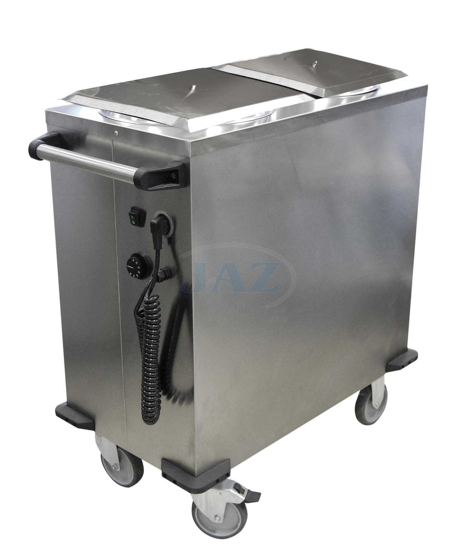 Ohrievač tanierov pojazdný, 100 tanierov, POT-2