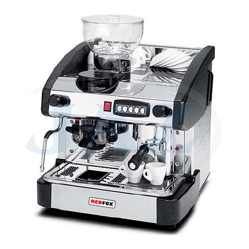 Kávovar 1 páka, mlynček, 100káv/h, EMC-1P/B/M