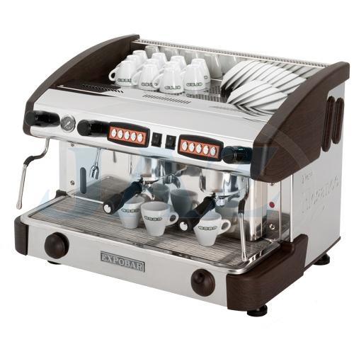 Kávovar 2 páky, kapučinátor, 200káv/h, WENGE, EC 2P/W/C