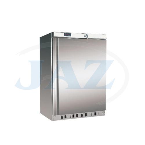 Chladnička podpult. nerezová ventilovaná 200 l, UR200S/HR200S