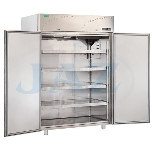 Chladnička nerezová dvojdverová ventilovaná 1500 l, LS-140X1