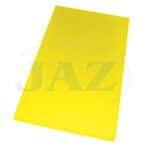 Doska plastová žltá 600x400