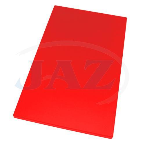 Doska plastová červená 600x400