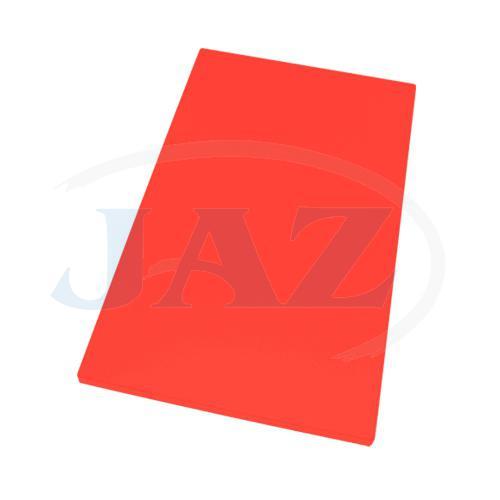 Doska plastová červená 500x300