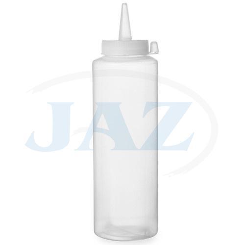 Fľaša na polevu biela