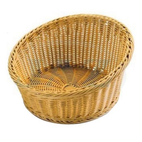 Košík na pečivo polyratan 35x20