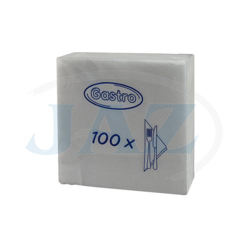 Servítky biele - 100ks