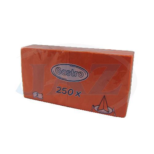 Servítky oranžové - 250ks