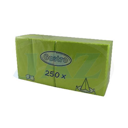 Servítky žltozelená - 250ks