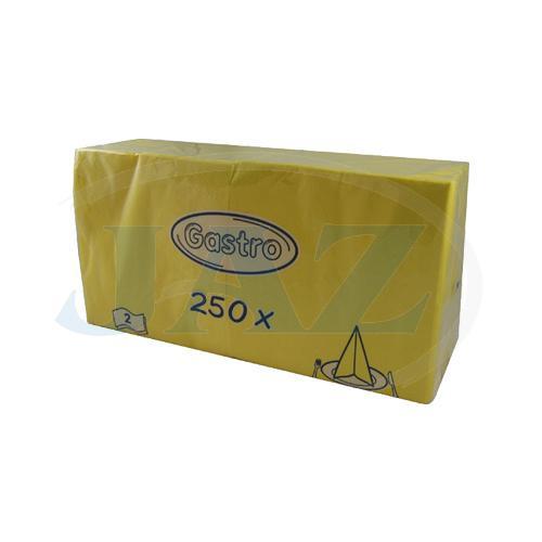 Servítky žlté - 250ks
