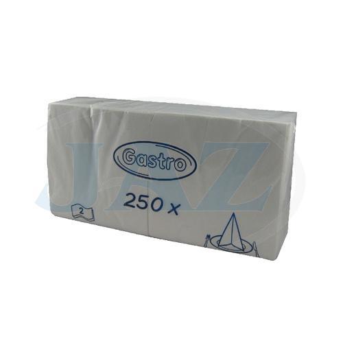 Servítky biele - 250ks