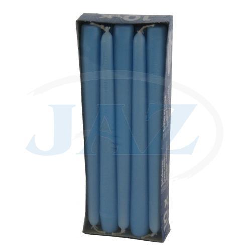 Sviečky bl.modré - 10ks
