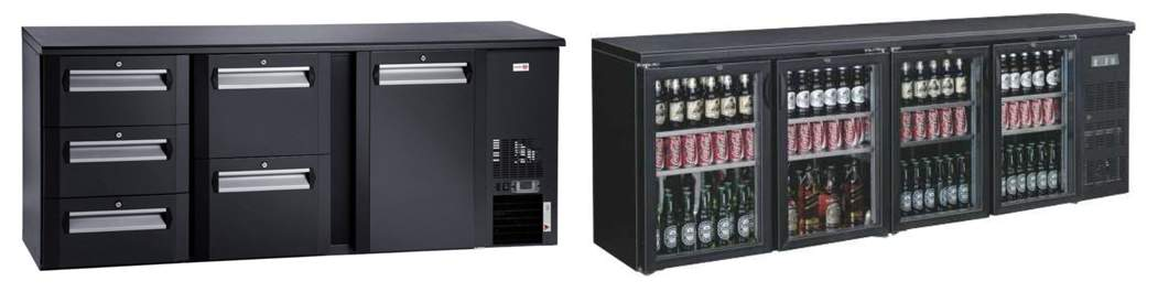 vybrať profesionálna barová chladnička