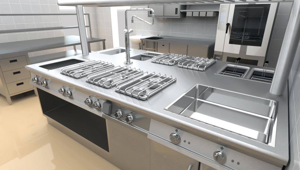 finálna kuchyna