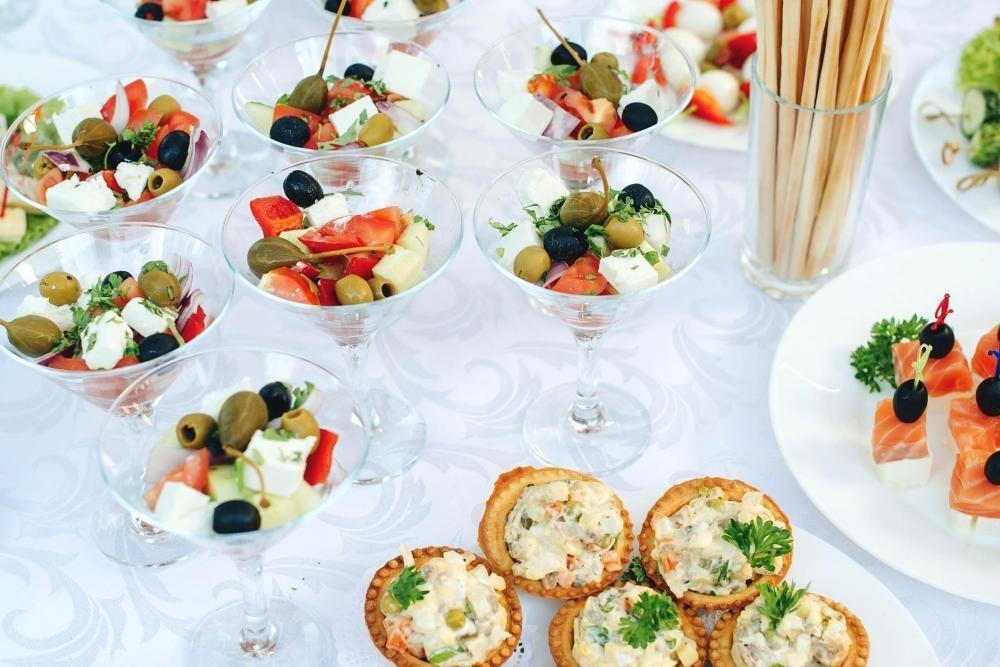 silvestrovský catering