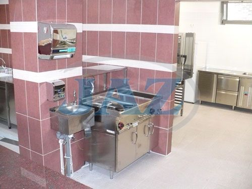 BLD Restaurant, Trenčín - kuchyňa a výdaj