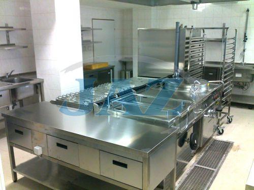 PD Čachtice - kuchyňa+výdaj