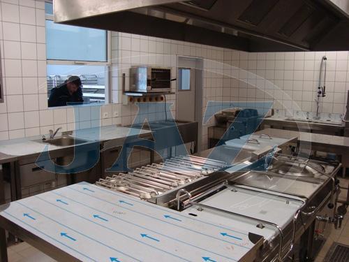 Bistro Gurman, Trnava - kuchyňa + výdaj