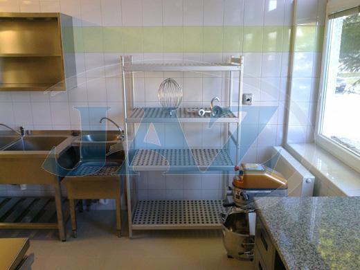 Centrum sociálnych služieb Domino, Prievidza - kuchyňa + práčovňa