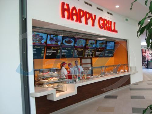 Happy Gril, N Centro, Nitra - fastfood