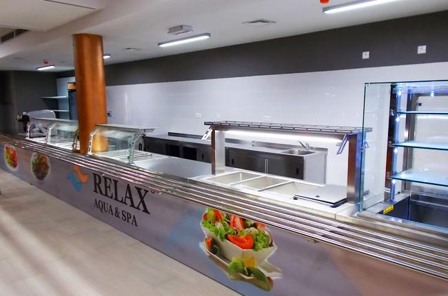 Relax Aqua & Spa,  Trnava - výdaj stravy