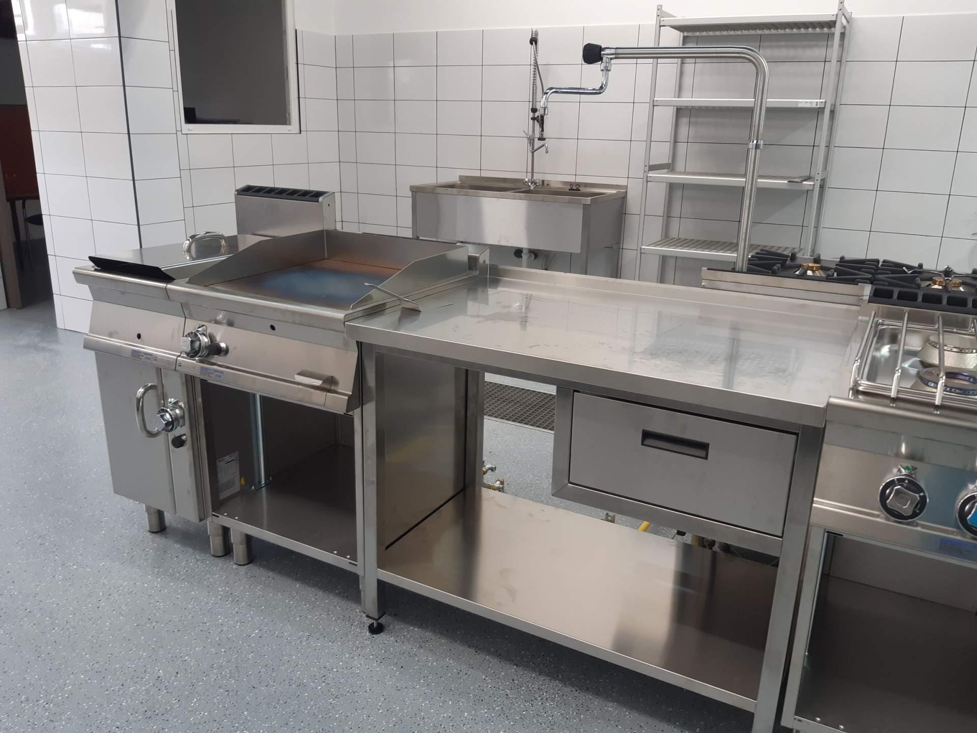 Pizza Top, Nitra - kuchyňa