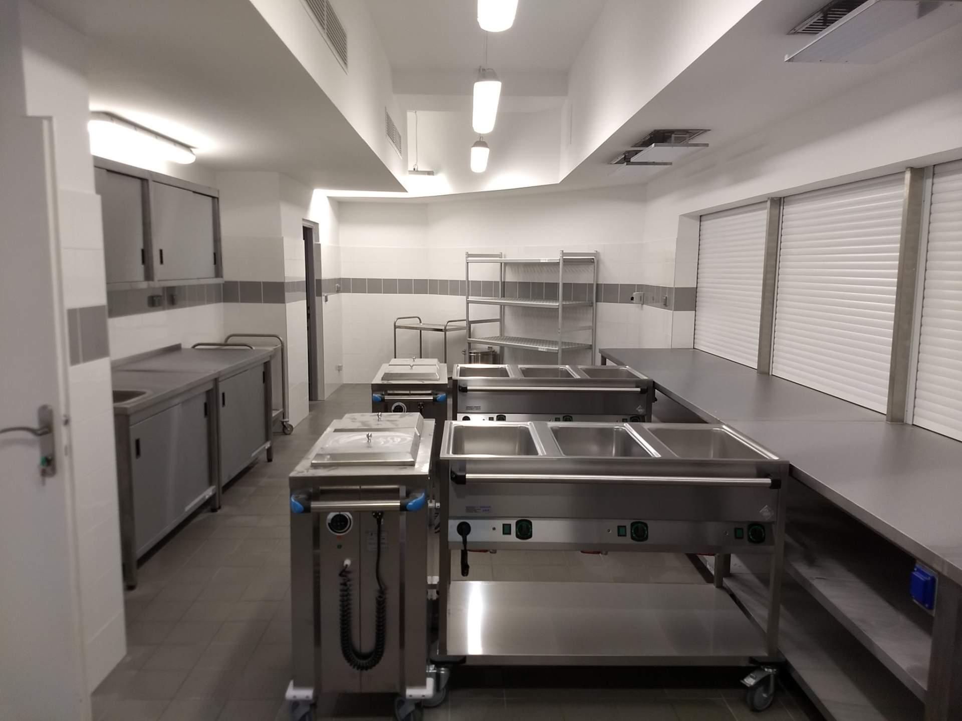 ZŠ Scherera, Piešťany - rekonštrukcia kuchyne
